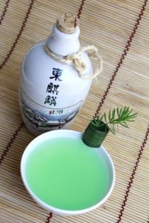 Saquê sake cocktail nippon asahi